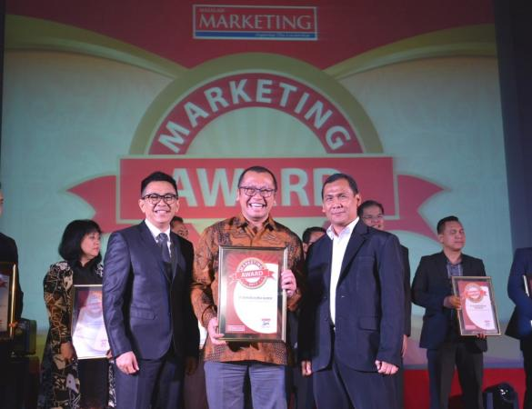 Toyota-Astra Motor Raih Dua Penghargaan di Marketing Award 2017