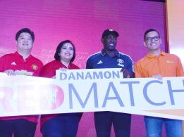 Hadirkan Dwight Yorke, Danamon Luncurkan Program Red Match Soccer Camp dan D-Point di Kanal-kanal Digitalnya