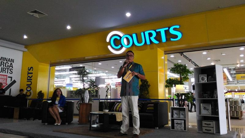 Roy Santoso, Country CEO PT Courts Retail Indonesia.